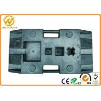Portable Recycled Rubber Base , Muiti Function Durable Delineator Rubber Pole Base