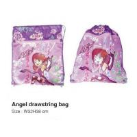 School Products QBG007Angel drawstring bag
