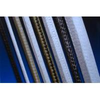 PTFE braided packing with graphite and/or carbon fiber