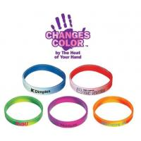 Wholesale MP501-7Mood Silicone Bracelet (1 Side) - Personalization Available from china suppliers