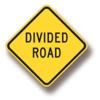 Wholesale Divided road sign W6-1B from china suppliers