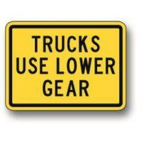 Wholesale Trucks use lower gear sign W7-2B from china suppliers