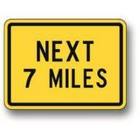 Wholesale Next number miles hill sign W7-3A from china suppliers