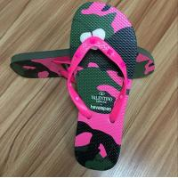 High quality natural rubber Flip flop with rubber strap