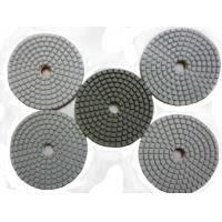 Buy cheap Quadrangle White Diamond Polishing Pad from wholesalers