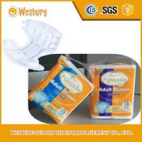 Soft and absorbent printed free samples grade a adult diaper