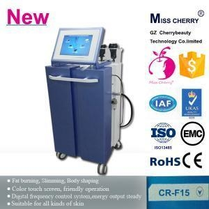 Quality cavitation machine/ vacuum rf/ cavitation slimming machine with laser paddles CR-F15 for sale