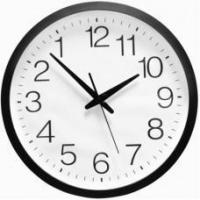 Wholesale Extra Large Backwards Clock - White Face - Black Frame from china suppliers