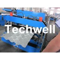 Wholesale Glazed Tile Roll Forming Machine With 22 Forming Stations For Metal Roof Panel from china suppliers