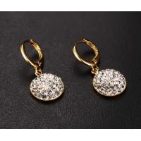 Wholesale Crystal Rhinestone Gold Plating Earrings from china suppliers