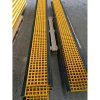 Wholesale GRP Grating for Stair Tread with Black Nosing from china suppliers