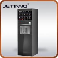 China Foot Standing Vending Machine With Hot Drink And Cold Drink on sale