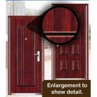 China Decorative Steel Security Doors on sale