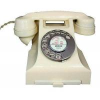 Wholesale Culture 1950s Bakelite Telephone in Ivory from china suppliers
