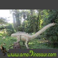 China Theme park made reproduce diplodocus animatronic dinosaur on sale