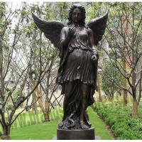 Buy cheap Big Western Bronze Outdoor Angel Yard Statues from wholesalers