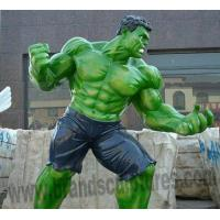 Buy cheap Outdoor Park Decoration Giant Green Hulk Resin Statue from wholesalers