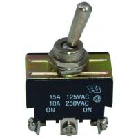 China Ul Approval Electrical Automotive Double Pole On Off Toggle Switches on sale