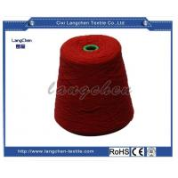100% Acrylic Woolen Yarn Red Color for sale