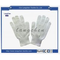 China 10G 100%cotton PVC Dotted Glove for sale