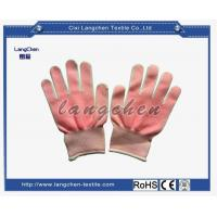 10G 100%polyester PVC Dotted Glove for sale
