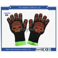 100% Aramid Heat Resistant Glove Silicone for sale