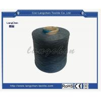 China Recuperated Yarn Blue Color for sale