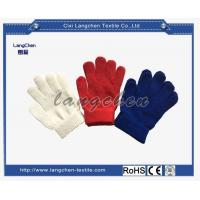 10G 100% Acrylic String Knit Glove 17CM for sale