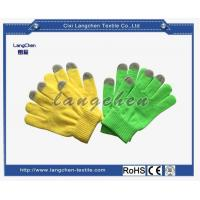 10G 100% Acrylic String Knit Glove Touchscreen for sale