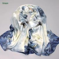 Buy cheap China Manufacturer Supplies100% Pure Silk Scarf With Customized Design from wholesalers