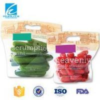Wholesale Transprent Plastic Stand Up Zipper Organic Food Packaging from china suppliers