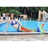 Wholesale 2017 90%Polyester + 10%Spandex swim meremaid tail for swimming from china suppliers