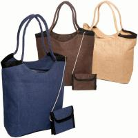 Wholesale Jute Bags Jute Tote Bag with wallet from china suppliers