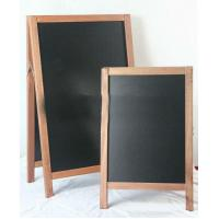 Wholesale Outdoor Sandwich Wood A-Board With Double Sides Black Board from china suppliers