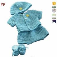 100% Cotton Free Crochet Sweater Baby Pattern