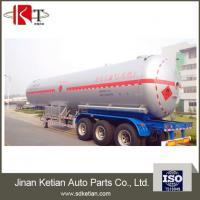 Buy cheap Professional Manufacture Gas Tanker Semi Trailer With High Quality from wholesalers