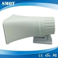 White color wired electric alarm siren from shenzhen alarm siren manufacturer for sale