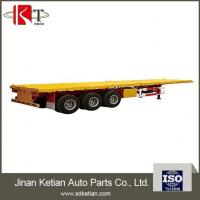 Buy cheap Hot Sales 3 Axles Flatbed Semi Trailer From China Professional Factory from wholesalers