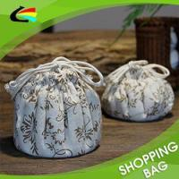 Best Trade Assurance Recycle Small Chinfun Oriental Style Cotton String Bag wholesale
