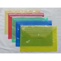 candy color solid plastic PVC bag for paper for file for sale