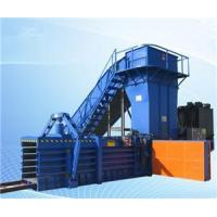Horizontal Manual Strapping Baler for waste paper cardboard