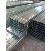 Wholesale Galvanised Steel C Purlin For Wall & Roof Support from china suppliers