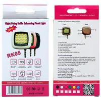Wholesale Essential Ceap Price Sync Led Flash for Selfie products RK05 Is Released from china suppliers