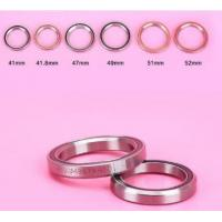 Buy cheap New mtb headset bike 41/41.8/42/47/49/51/52 mm bike headset bearings bicycle accessory from wholesalers