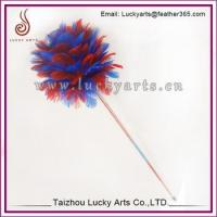 China Colorfull Feather Cat Toy Ball For Sale on sale