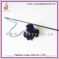 Lucky Arts Wholesale Cheap Feather Cat Toy/Cat Teaser Toys/Feather bar