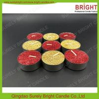 Quality SL-TEA light candle-1107 glitter candle tealights for sale