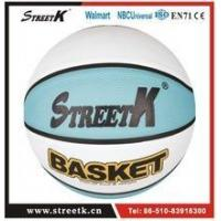 Wholesale Deep Channel Rubber Basketball Ball/Emboss Logo Basketball/Good Design from china suppliers