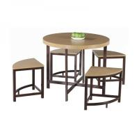 Wholesale Modern Round Dining Table Set For Sale from china suppliers
