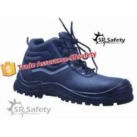 SRSAFETY new style industrial safety shoes leather shoessteel toe safety shoes equipment for sale